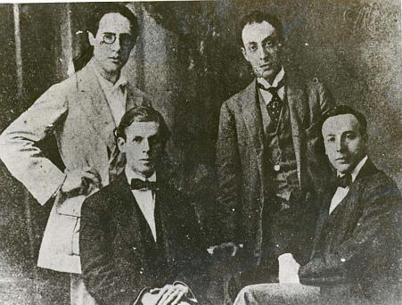 Emilio Pujol, Miguel Llobet, Andres Segovia