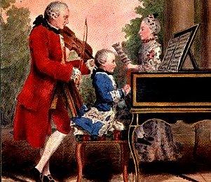 Mozart at the piano