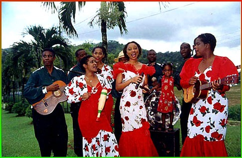 a parang group from Puerto Rico