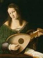 Singer and lute